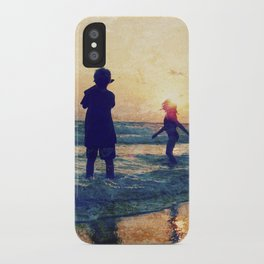 Beauty in the Blues iPhone Case