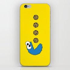 Cookie monster Pacman iPhone & iPod Skin