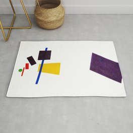 Kazimir Malevich - Painterly Realism of a Football Player—Color Masses in the 4th Dimension (new edi Rug