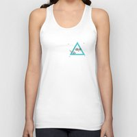 30 rock Tank Tops featuring 30. by Jim Lockey