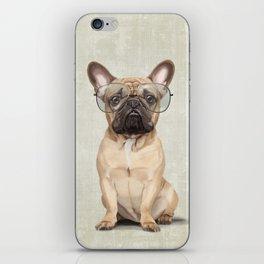 Mr French Bulldog iPhone Skin