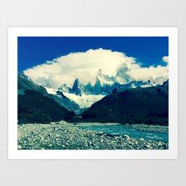 Patagonia Art Print