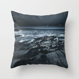 Courted by sirens Throw Pillow