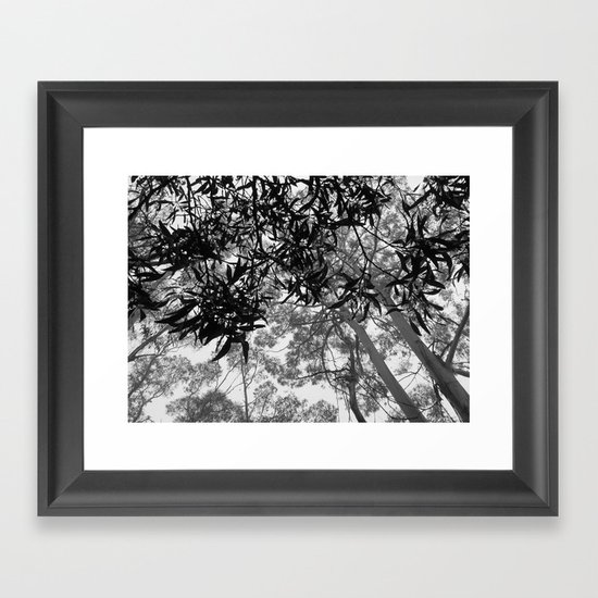 A Walk in the Clouds #4 Framed Art Print