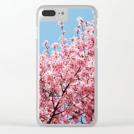 Plum Blossoms Japanese Ume Tree in Early Spring Photography Clear iPhone Case