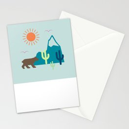 Nature Cactus Stationery Cards