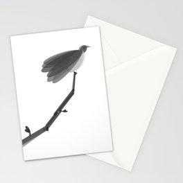 Spring Bird Black & White Stationery Cards