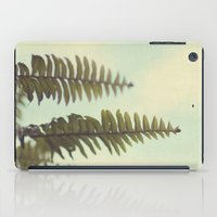 fern iPad Cases featuring fern by Beverly LeFevre