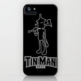 Tin Man Games logo iPhone Case