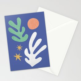 Inspired by Matisse - Seagrass and Sun 1.2  Stationery Cards