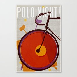 Polo Night! | Track Canvas Print