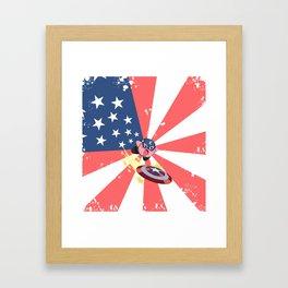 Captain Kirby Framed Art Print