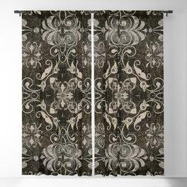 Fleurons VII Blackout Curtain