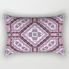 Victorian Art Deco Medieval Pattern light purple SB25 Rectangular Pillow