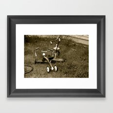Tricycles  Framed Art Print