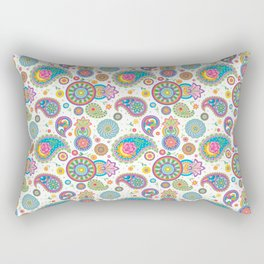 Paisley Funtime Rectangular Pillow