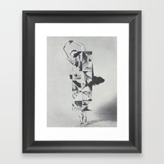 Diamond Dancer Framed Art Print