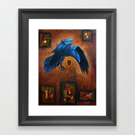 DrumBeat Framed Art Print