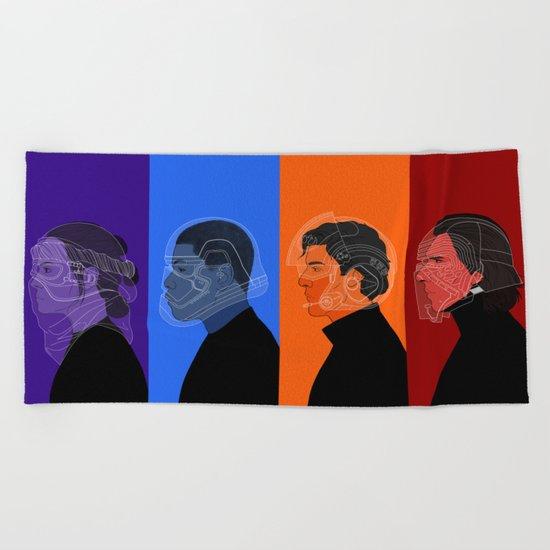 Group Beach Towel