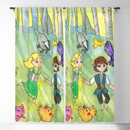 Hansel and Gretel Escape Blackout Curtain