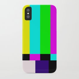 No Signal TV iPhone Case