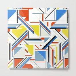 Bauhaus Metal Print