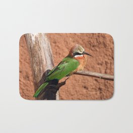 White-fronted Bee-eaters Bath Mat