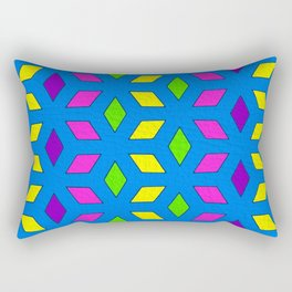 Rhombus Pattern Rectangular Pillow