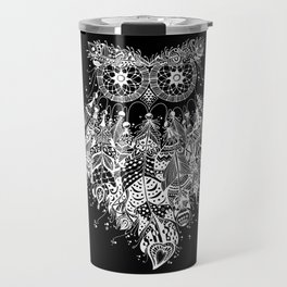 Dream Catcher on Black Travel Mug