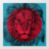 eric fan Canvas Prints featuring Wild 5 by Eric Fan & Garima Dhawan by Garima Dhawan