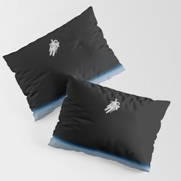 Space Walk Exploration Pillow Sham