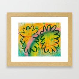 Something Something Fondue Framed Art Print