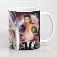 ali gulec Mugs featuring Ali #2 by YBYG