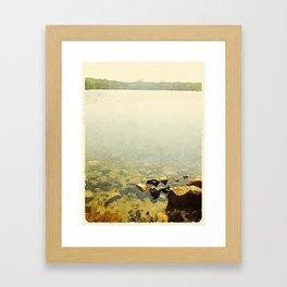 Swan Lake State Park, Maine Framed Art Print
