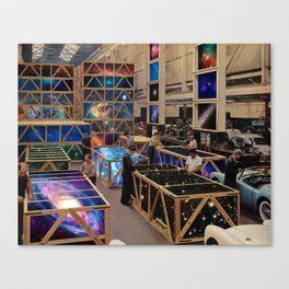 Moving universes Canvas Print