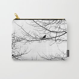 The Lonely Bird in the Tree Carry-All Pouch
