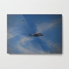 Space Shuttle Metal Print