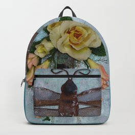 Dragonfly Love by Kathy Morton Stanion Backpack