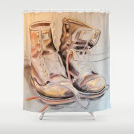 More Work to Do Shower Curtain