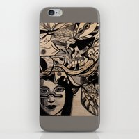 headdress iPhone & iPod Skins featuring Headdress by creative kids