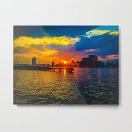 Baltimore Sunset Metal Print