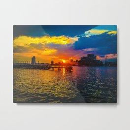 Baltimore Sunset Metal Print