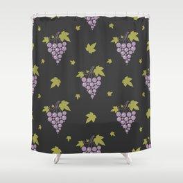 Grape Pattern Shower Curtain