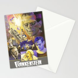 """FRANKENSTEIN"" (1931) Tribute Poster Stationery Cards"