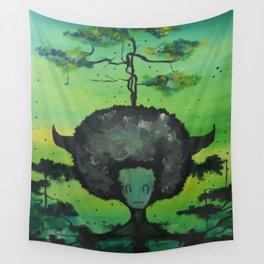 Gaia's Meliae Wall Tapestry