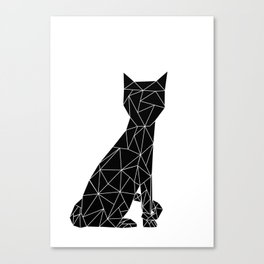 Eleven Quads Cat Canvas Print