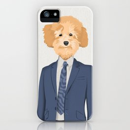 Posing Poodle iPhone Case