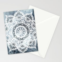 Dreamer Mandala Blue Stationery Cards