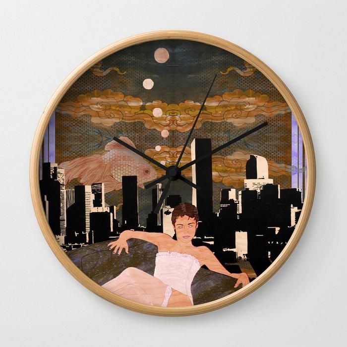Denber Lady ver.1 Wall Clock