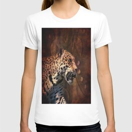 western country rustic wild leopard T-shirt